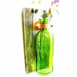 Glass Fancy Wall Hanging Flower Pot, For Decoration
