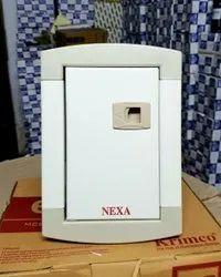 Metal Double Door Distribution (MCB) Box