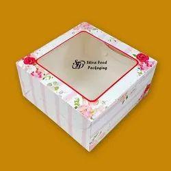 Window-cake-box
