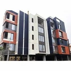 Metal Facade Wall Cladding, Thickness: 6 Mm