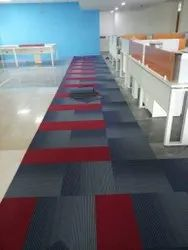 Commercial Building PVC Flooring Services, Waterproof