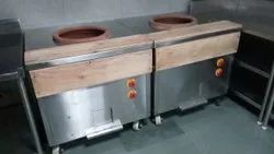 Stainless Steel Rectangular Tandoor, For Hotel, Capacity: 50 Kg