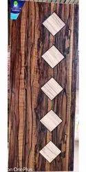MEMBRANE WOODEN DOORS-DUAL COLOUR-FANCY DOORS, For Home, Door Height: 7 Feet Width 4 Feet