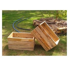 Rectangular Rubber Wood Pallet Box, For Shipping, Capacity: 100 Kg