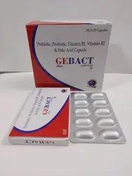 Prebiotic Probiotic,Vitamin B1,Vitmin B2,Folic Acid Capsules