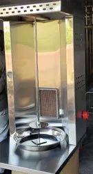 Single Burner Shawarma Machine