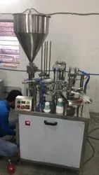Automatic Curd Cup Filling And Foil Sealing Machine