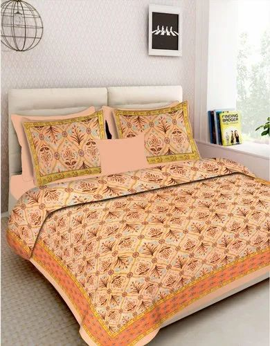 Double Bed Cotton King Size Bedsheet