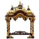 木制的传统寺庙为家