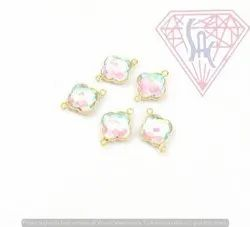 Rainbow Multi Quartz Bezel Connector