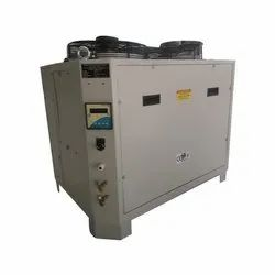 Single Phase Portable Industrial Water Cooled Chiller, Capacity: 1 ton, Automation Grade: Semi-Automatic