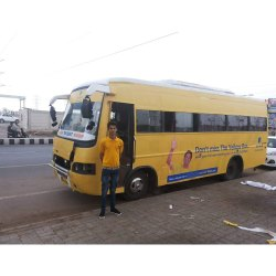 Outdoor Bus Advertisement Services, in Pan India
