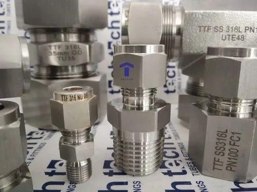 TTF Stainless Steel Single Ferrule Fittings, Rs 50 /piece Tech Tubes & Fittings | ID: 10650463691