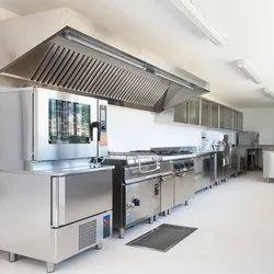 Modern Commercial Kitchen Interior Designing Service