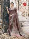 Printed Pashmina Silk Saree