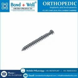 Orthopedic Cancellous Bone Screw