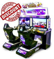 Car Racing Arcade Game Machine - Out Runner Twin 42