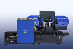 ITM-210LMGS - Semi-Automatic Double Column Bandsaw Machine On LMG