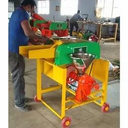 Heavy Duty Horizontal Chaff Cutter Machine With Pulverizer