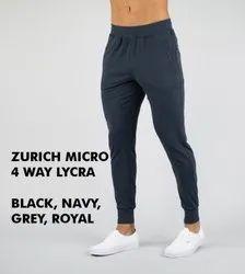 ZURICH Plain 4 Way Lycra Fabric 220GSM