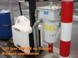 In-Line Filter Iron Diesel Fuel Filters, Diameter: Depends on LPM chosen