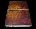 Peacock Embossed Handmade Leather Journal