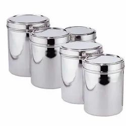 DEEP STEEL CONTAINER, For Home Storage