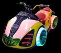 Mirage Chariot Bike Amusement Rides Game
