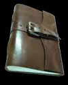 Vintage Leather Journal with Buckle Closer