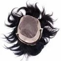Hair Patch For Hair Loss Solutions Hair Wig/Front Lase Hair Toupee (Free 3 Wig Clips)