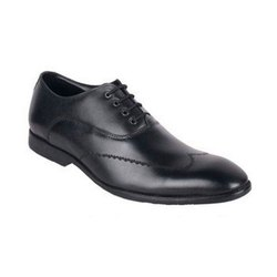 Lace Up Black Leather Formal Shoes
