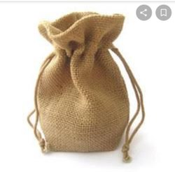 Natural Plain Jute Gift Bags, Size: Starts From 5