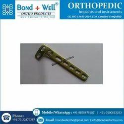 Orthopedic L Buttress Plate