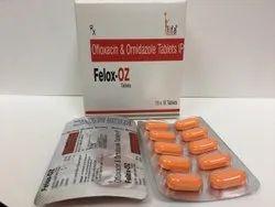 Ofloxacin IP 200mg & Ornidazole IP 500 mg