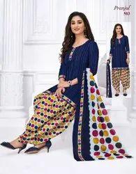 Stitched Patiala Pranjul Stitch Dress, Handwash