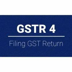 GSTR-4  GST Return Service