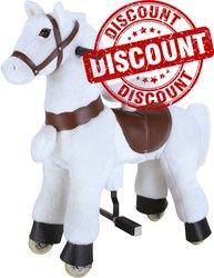 Kiddie Ride Animal - White Horse (Medium)