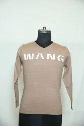 B-135 Woolen V Neck Men's Sweater