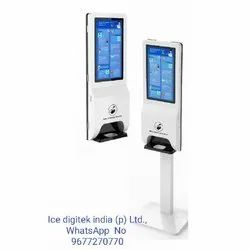 Oem Custom-Made Touchless Alcohol Spray Automatic Hand Sanitizer Dispenser Smart