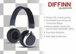 Round Wired headphone