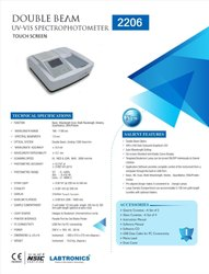 Double Beam UV V1S Spectrophotometer