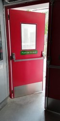 Clean Room Emergency Exit Door