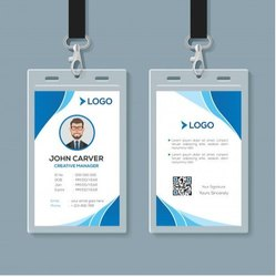 Rectangular Double Sided ID Card