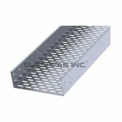 Return Inside Flange Perforated Cable Tray