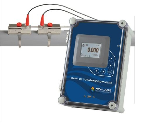 CLAMP-ON ULTRASONIC FLOW METER