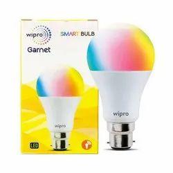 Round Wipro Garnet 9w Smart LED Bulb
