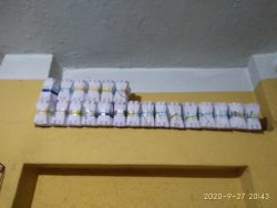 White Paper MEDICINE ENVELOPE