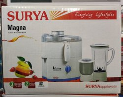 Magna 450 SURYA JUICER / MIXER / GRINDER, For Kitchen, Capacity: 2 Jars