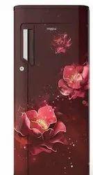 Whirlpool Icemagic Pro 200L Single Door Refrigerator, 3 Star , Wine Mulia