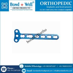3.5 mm Orthopedic Implants T Right Angled Locking Plate